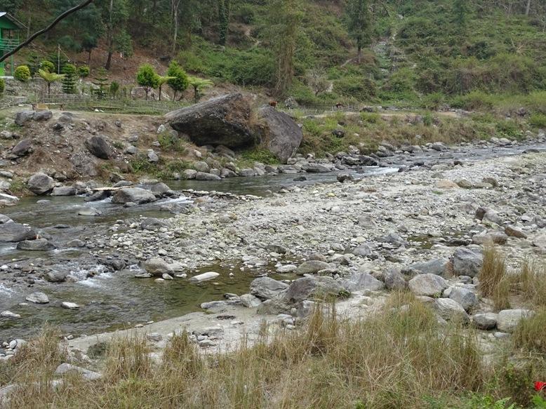 Rishi River Bed