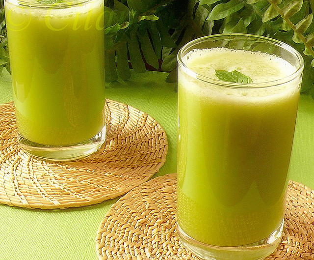 Ginger-sugarcane juice