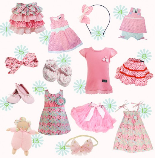 pink-baby-clothes
