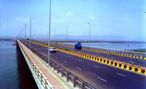 The Airoli Bridge