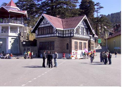 The Ridge of Shimla