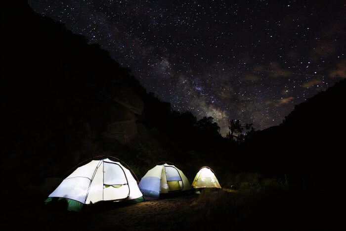 Camp under the stars in Ladakh