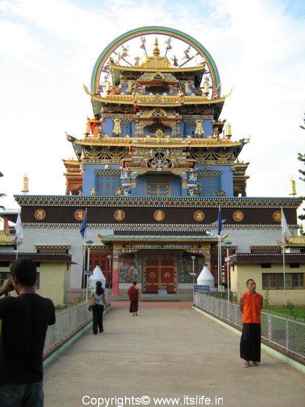 Golden Temple Complex in Coorg