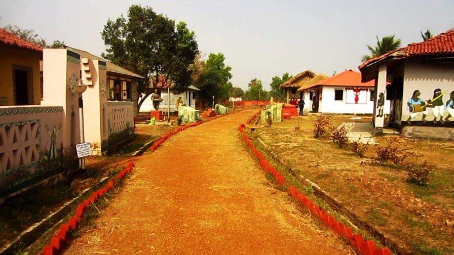 A Trip to Santiniketan