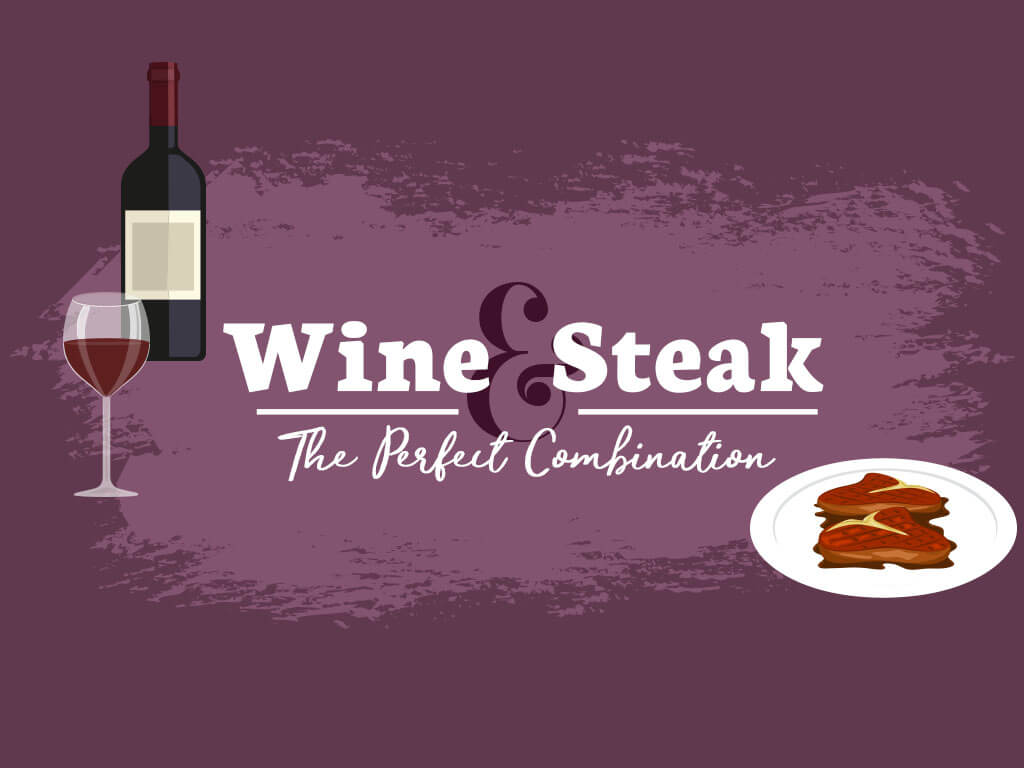 Wines & Steak The Perfect Combination