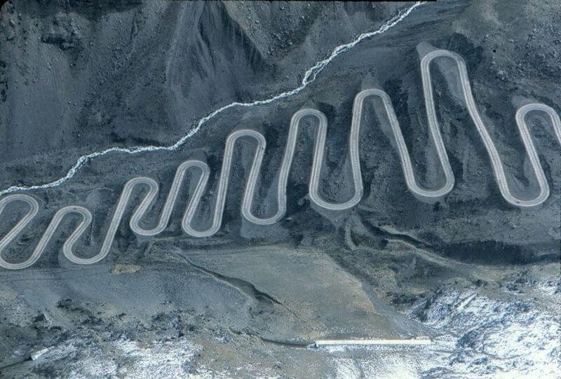 Los Caracoles Pass, Chile