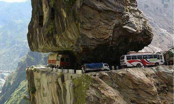 The Zoji Pass, India